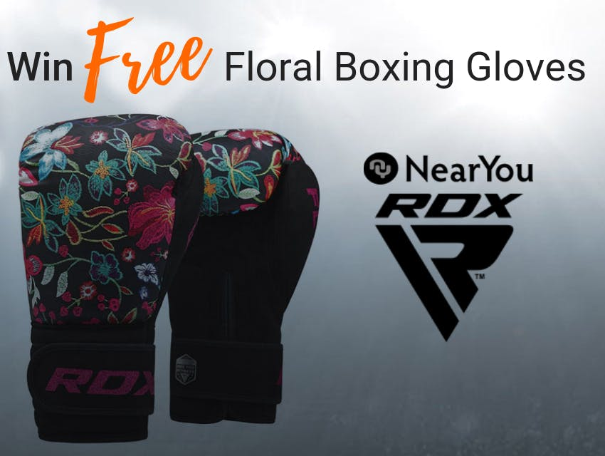 Win a Pair of Amazing Woman's Boxing Gloves