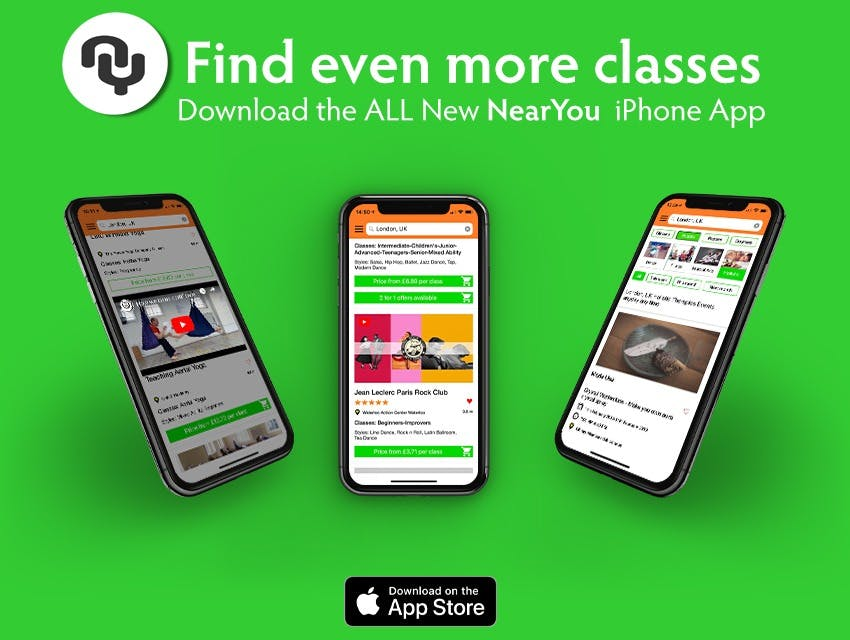 Find the best Martial Arts Classes in the all new iPhone App
