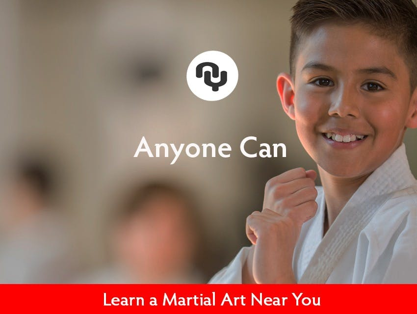 Anyone can Learn a Martial Art